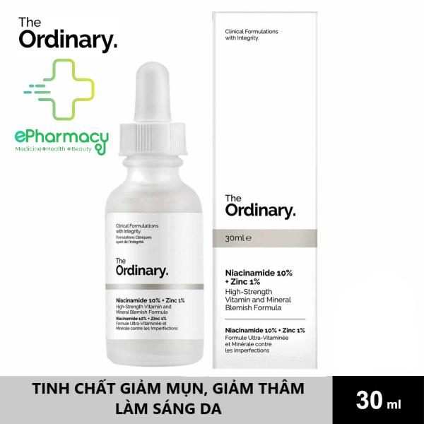 [HCM]Serum Niacinamide 10% + Zinc 1% The Ordinary - Tinh Chất The Ordinary kiềm dầu giảm mụn giảm thâm