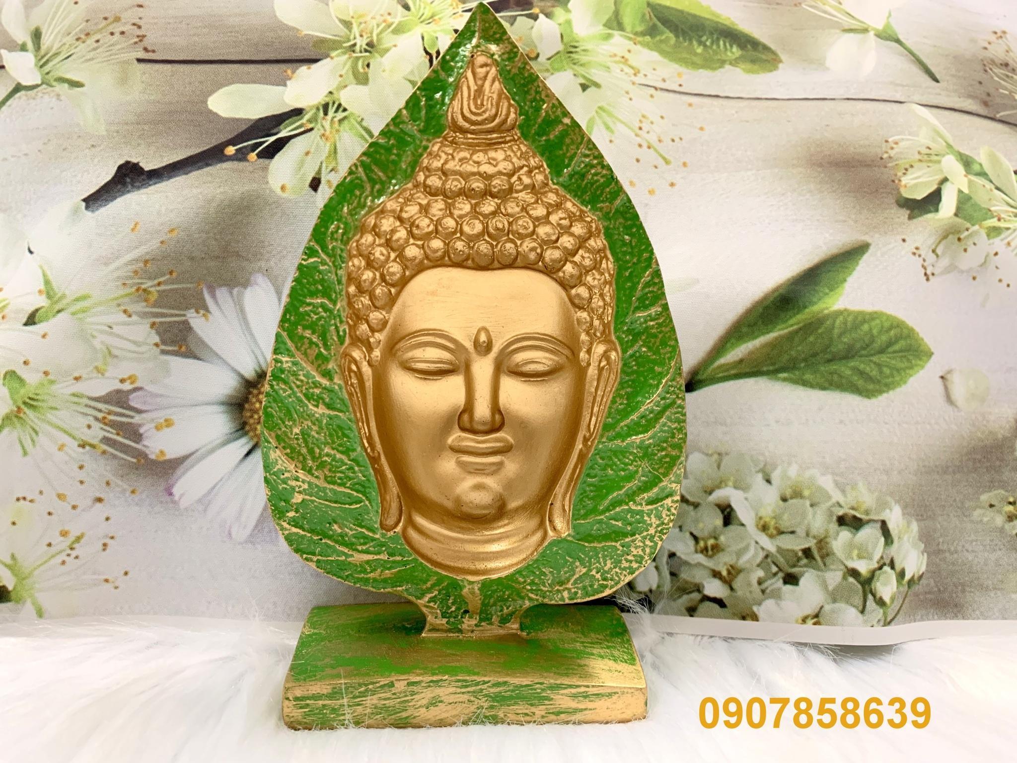 Mua Tượng Phật Thích Ca 3D Lá Bồ Đề
