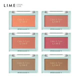 Phấn Má Hồng Đa Năng Lime Color & Face Single Blusher 4.5g, cho gương mặt sáng rạng rỡ hơn, phù hợp cho mọi loại da thumbnail