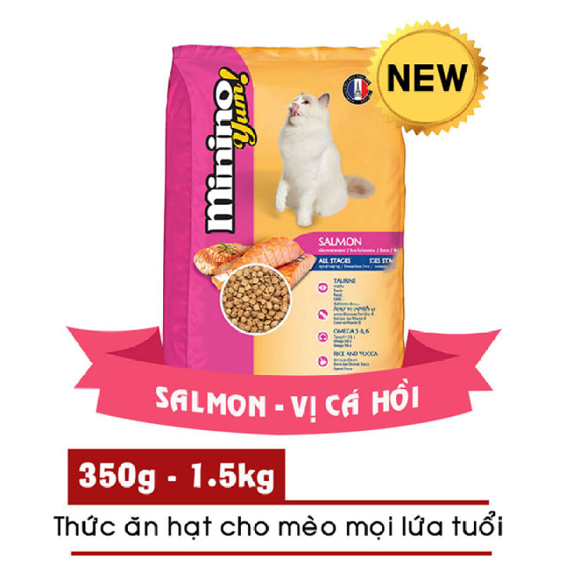 Thức ăn mèo MININO YUM cho mọi lứa tuổi