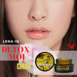 Detox thải chì môi LENA IQ tẩy tế bào chết làm môi hồng mịn môi căng mọng - Chuối thumbnail