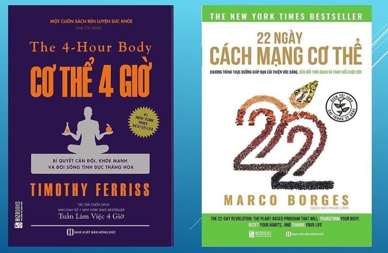 SH-Combo 22 Ngày Cách Mạng Cơ Thể + Cơ thể 4 giờ – Bí quyết cân đối khỏe mạnh và đời sống tình dục thăng hoa (tặng kèm giấy nhớ PS)