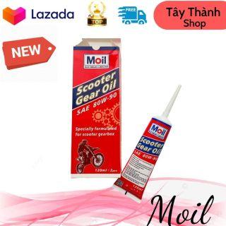 Nhớt lap xe tay ga Moil Scooter Gear Oil, tiêu chuẩn API GL-5 hãng sản xuất Thái Lan - Tây Thành Shop chuyên dầu nhớt xe tay ga - Tây Thành Shop chuyên nhớt xe máy thumbnail
