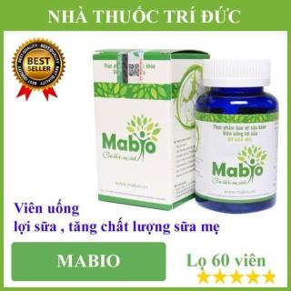 Viên uống lợi sữa Mabio - Tăng chất lượng sữa mẹ thumbnail