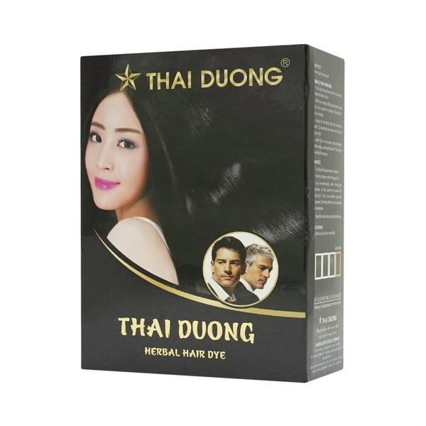 1 hộp thuốc nhuộm tóc dược liệu Thái Dương gồm 5 gói giá rẻ
