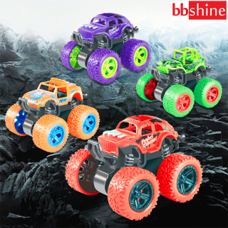 Xe ô tô đồ chơi cho bé trai, xe địa hình bánh đà cho trẻ em nhào lộn 360 độ chạy đà cực mạnh bằng nhựa nguyên sinh ABS BBShine DC054 thumbnail