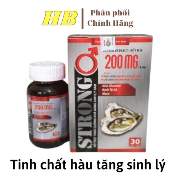 Tăng cường sinh lý nam giới  STRONG 30 viên HSD 2023-tang cường sinh lý nam-sinh- hỗ trợ sinh lý nam- tăng cường sinh lí nam ly nam-yếu sinh lý nam -tang cường sinh lý nam-tăng cuong sinh ly nhập khẩu