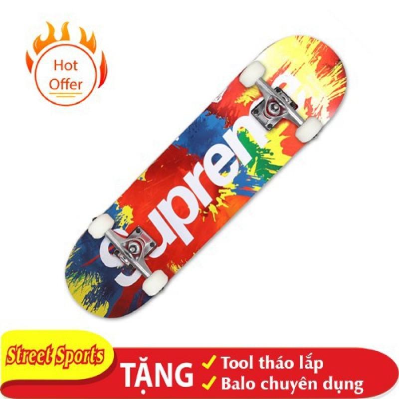 Giá bán Ván Trượt Skate Supereme 1200-04 Tăng Kèm Tool + Túi Đựng Ván