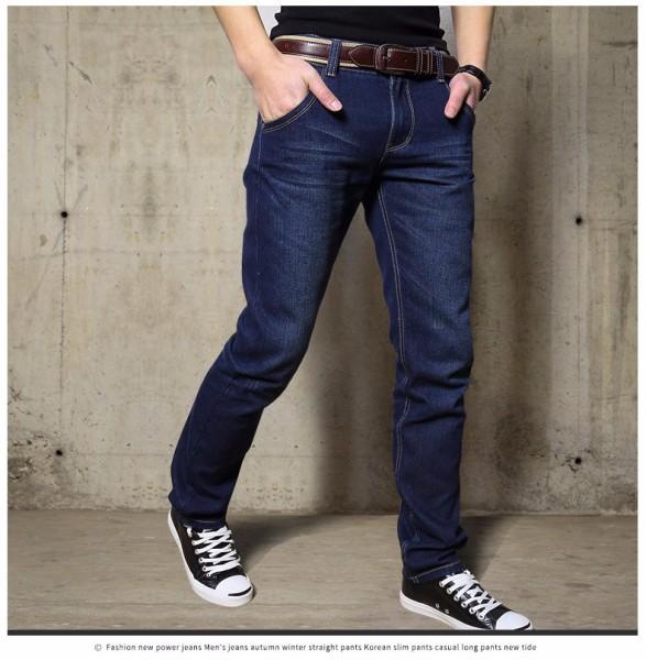 Quần Jean dài Nam Ống suông nhiều màu cơ bản, form chuẩn đẹp - Có size Bự Jean002