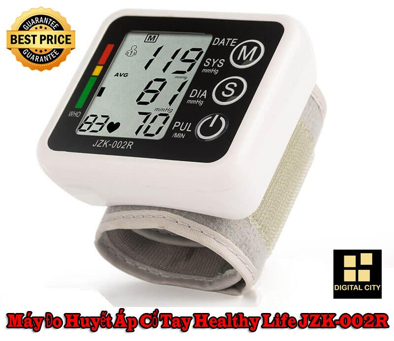 Máy đo huyết áp cổ tay Healthy Life JZK-002R - Đo huyết áp vô cùng chuẩn sác, sử dụng dễ dàng, giúp bạn theo dõi sức khỏe. bán chạy