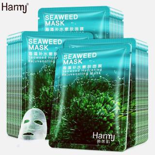 Combo 5 Mặt Nạ Tảo Biển Seaweed Mask Chính Hãng Bisutang-Bachhoaxanh888 -Mặt Nạ Tảo Biển Tế Bào Gốc, Mặt Nạ Dưỡng Ẩm, Dưỡng Trắng Và Bảo Vệ Làn Da. thumbnail