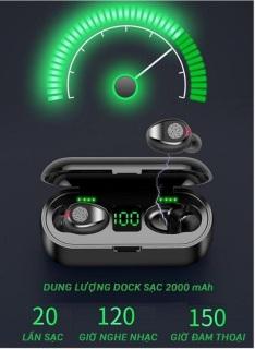 [ Sale Sốc ] Tai Nghe Bluetooth AMOI F9 Pro Quốc Tế Nút CẢM ỨNG Bluetooth 5.0 Kén Sạc 2000 Mah Âm Thanh Sắc Nét - Tai Nghe Bluetooth Không Dây Amoi F9 Pin Trâu - Tai Nghe Buetooth cho mọi dòng máy 4
