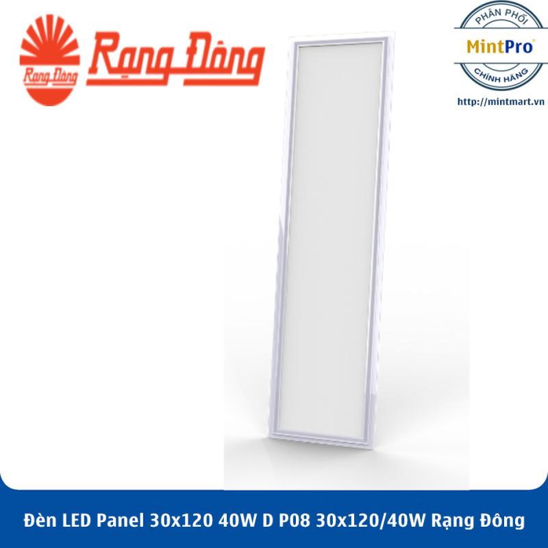 Đèn LED Panel 30x120 40W D P08 30x120/40W Rạng Đông - Hàng Chính Hãng