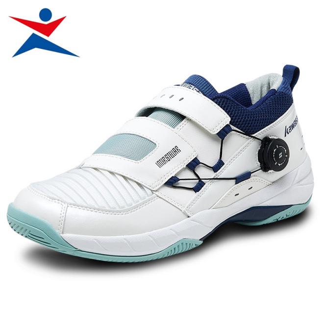 Giày đánh cầu lông Nam Nữ Kawasaki K530 đế kếp, chống lật cổ chân, mẫu mới 2021, bảo hành 12 tháng, giày bóng chuyền giá rẻ