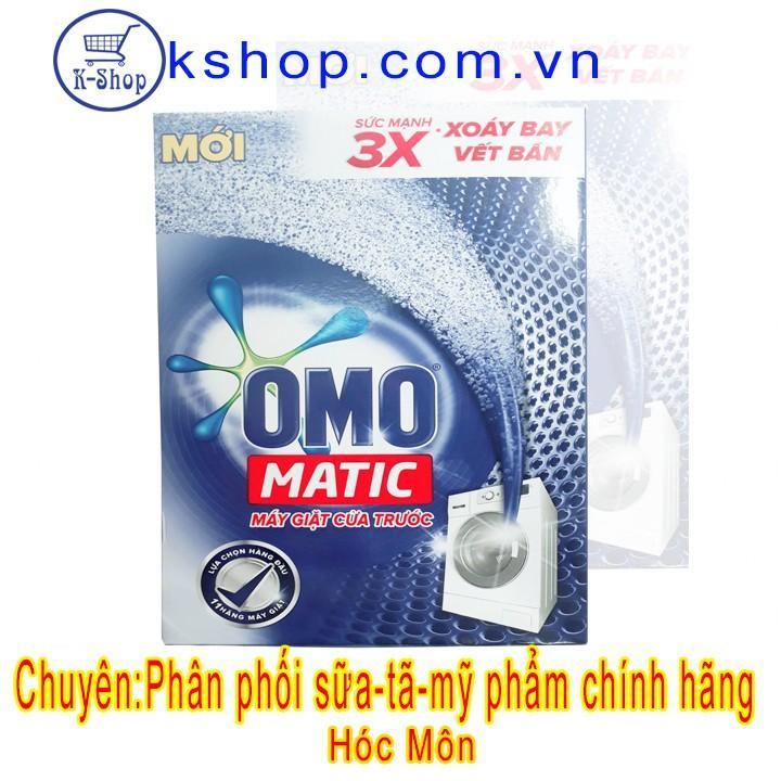 Deal Khuyến Mãi Bột Giặt Omo Matic Cửa Trước 3 X 3 Sức Mạnh 6kg