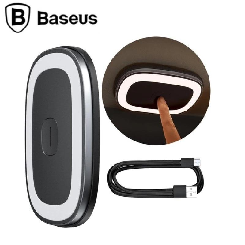 Đèn led gắn trần ô tô, phòng khách, bếp cao cấp thương hiệu Baseus CRYDD01-01 (dung lượng pin 400mAh)