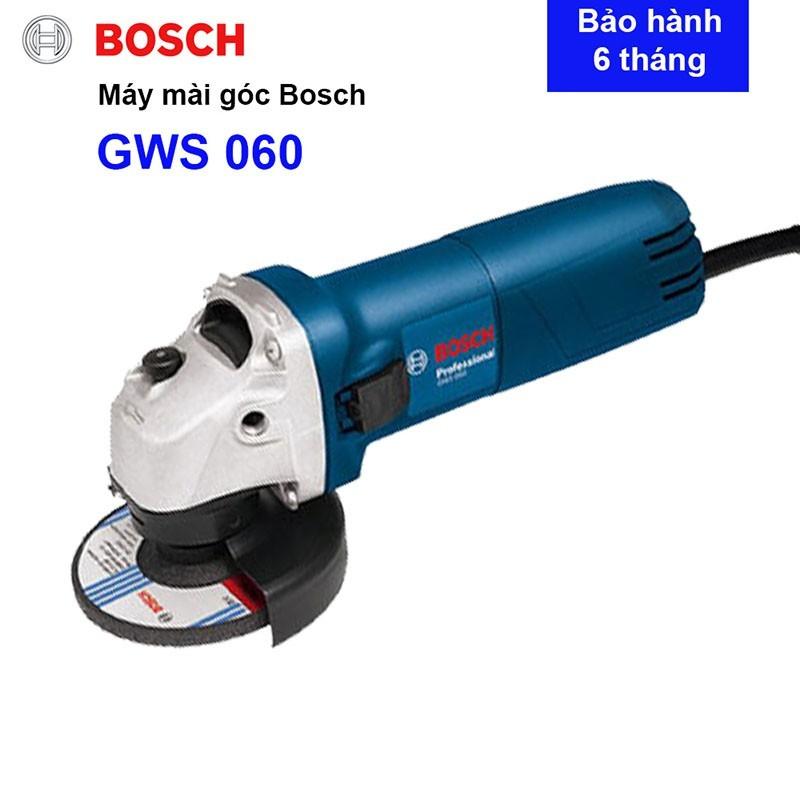 Máy mài góc nhỏ Máy cắt sắt cầm tay Bosc GWS 060 Công suất 670W đá 100 bảo hành 6 tháng - Dòng máy mài bán chạy nhất năm