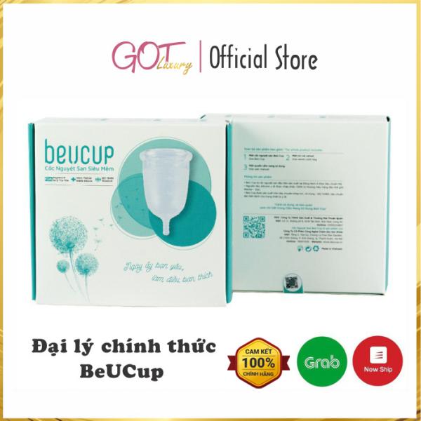 Cốc Nguyệt San BeUcup Silicol Y Tế Wacker Đức Siêu Mềm Thay Thế Băng Vệ Sinh Đạt Chuẩn FDA Hoa Kỳ Hàng Chính Hãng