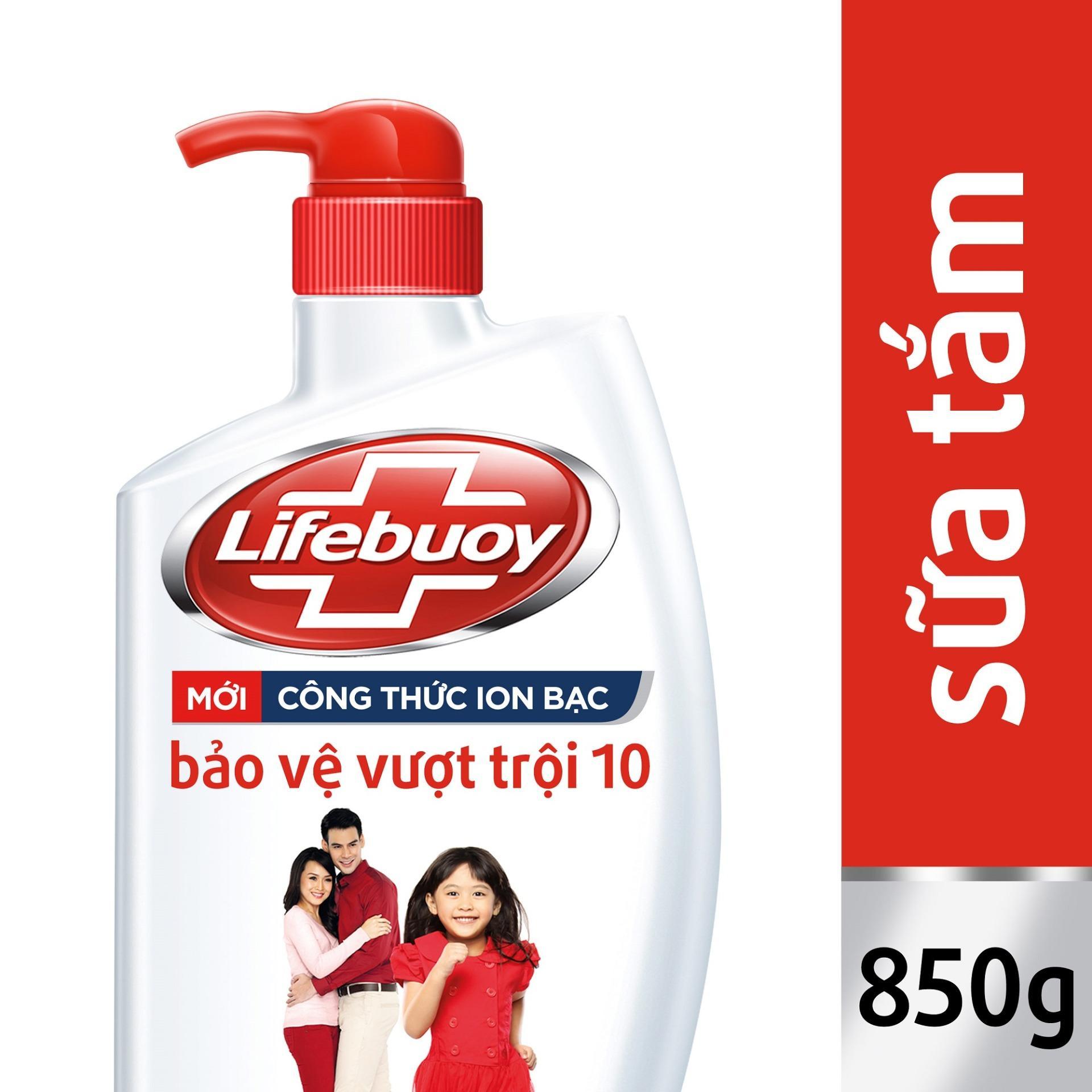 Sữa tắm Lifebuoy Bảo vệ vượt trội 10 850 g