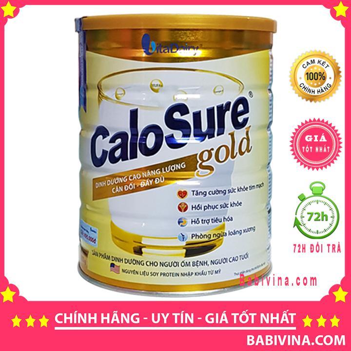 [LẺ GIÁ SỈ]Sữa Bột CaloSure Gold 900G Dành Cho Người Lớn Tuổi Người Mới Ốm Dậy.