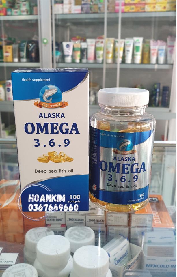 Bổ mắt , Đẹp da , bổ não , dầu cá Omega 3.6.9 nhập khẩu