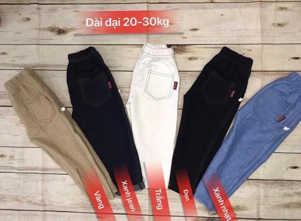 Giá bán Quần Giả Jean Cho Bé Size Nhỡ 20-30kg