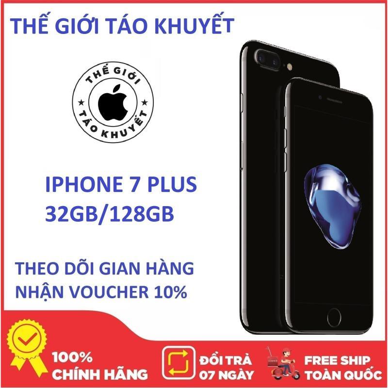 Điện thoại Apple IPHONE 7 PLUS - 32G/128G - RAM 2GB - Bảo hành 12T - Chính Hiệu - Thế Giới Táo Khuyết