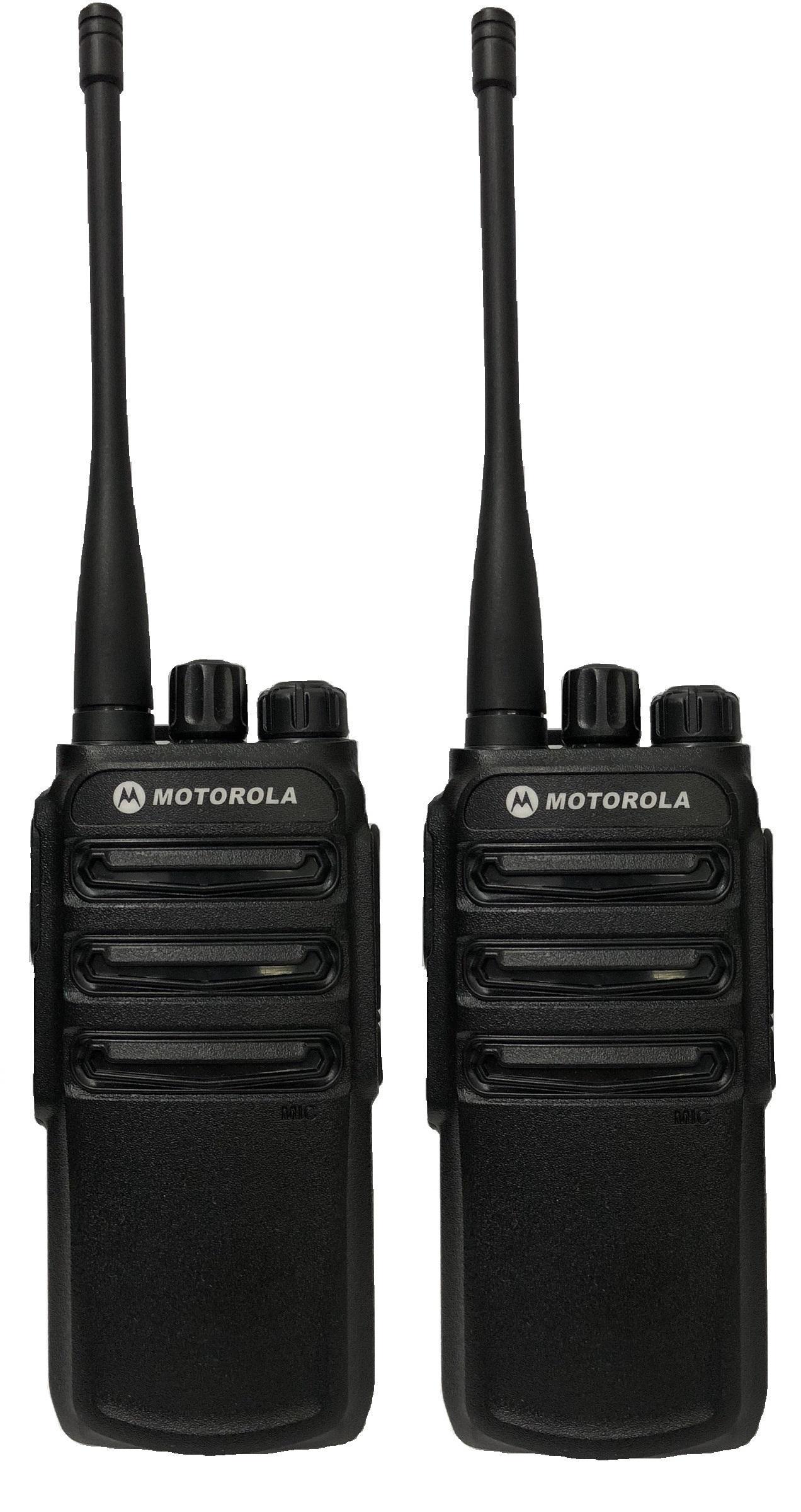 Bộ 2 Bộ đàm Motorola CP838 (Siêu bền, Loa chống từ tính, Pin dung lượng lớn, cự ly liên lạc xa) Nhật Bản