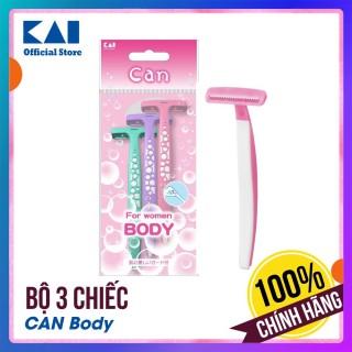 Dao cạo lông cơ thể cho nữ Can Body - Bộ 3 chiếc thumbnail