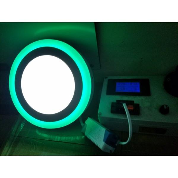 Đèn trần ốp nổi hình tròn 3D Cao cấp công suất 12+ 4w, tiết kiệm năng lượng 90%, Cam kết hàng chính hãng HG