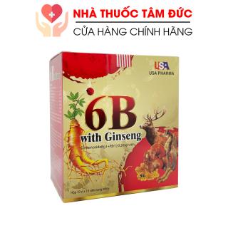 Viên uống Vitamin B tổng hợp 6B With Ginseng bồi bổ cơ thể, tăng sức đề kháng - Hộp 100 viên giúp ăn ngon miệng, phục hồi sức khỏe thumbnail