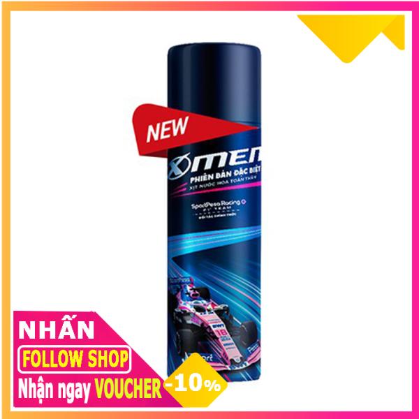 Xịt khử mùi nước hoa X-Men Phiên Bản Đặc Biệt 100ml cao cấp