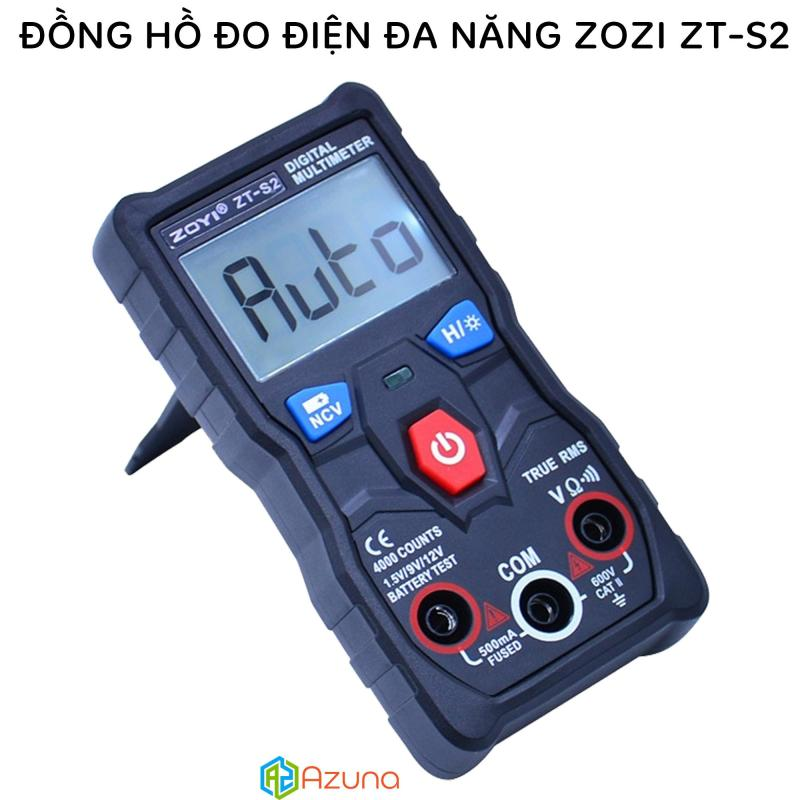 Đồng hồ đo điện tự động đa năng ZOYI ZT-S2 (True RMS / Battery & NVC Test / 4000 Count)
