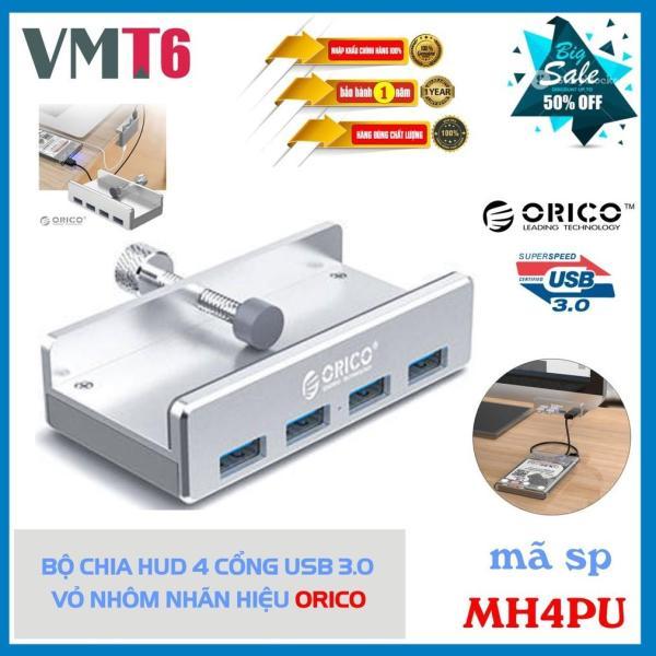 Bảng giá Bộ chia Hub 4 cổng USB 3.0 vỏ nhôm Orico MH4PU Phong Vũ