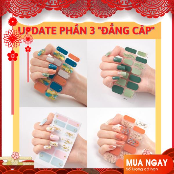 [Phần 3] Tuyển Tập Miếng Dán Móng Tay Nail Sticker cao cấp số lượng có hạn giá rẻ