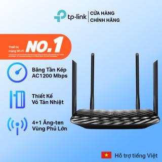 TP-Link Bộ phát wifi (Cuc phat wifi) Chuẩn AC 1200Mbps Archer C6 - Hãng phân phối chính thức thumbnail