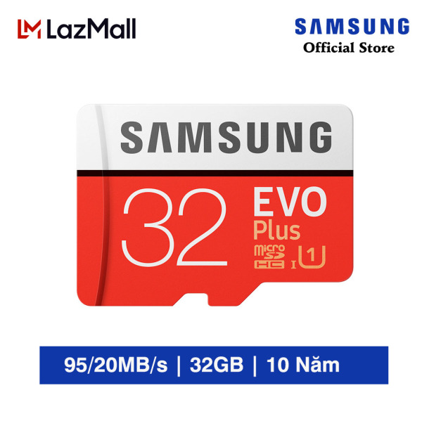 Thẻ nhớ Samsung Evo Plus 32GB Chính Hãng