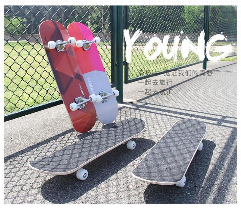 SALE HOT-MAU MOI-Ván trượt skateboard thể thao chất liệu gỗ phong ép cao cấp 7 lớp mặt nhám