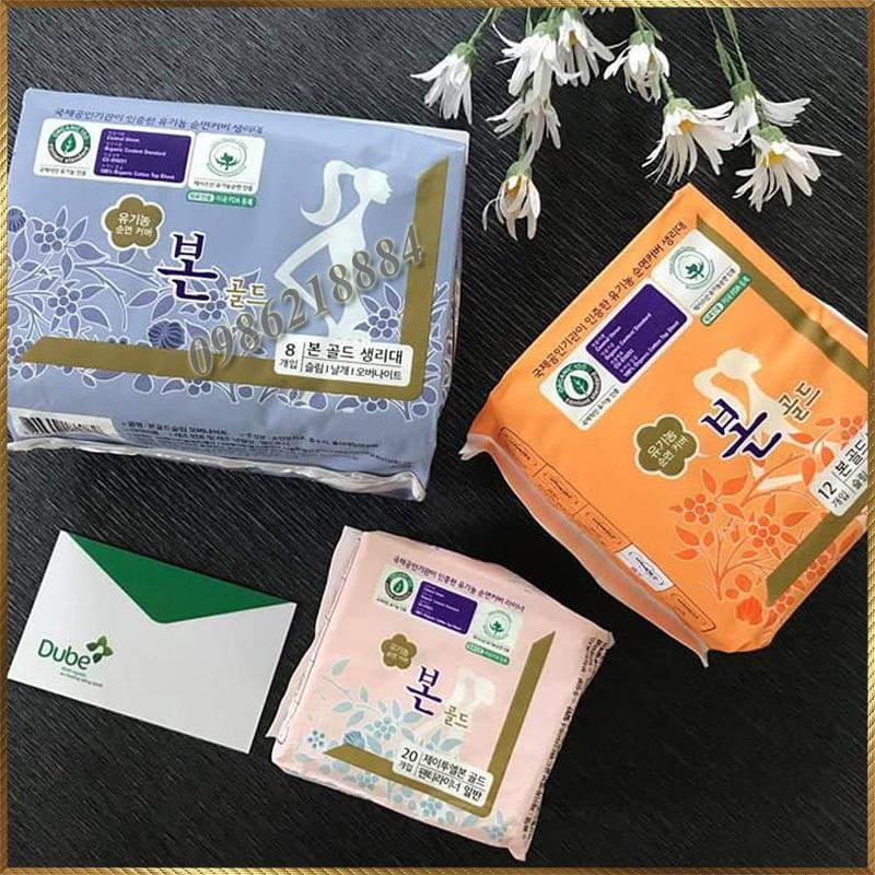 Băng vệ sinh Gold Bon Hàn Quốc loại Ban Ngày nhập khẩu