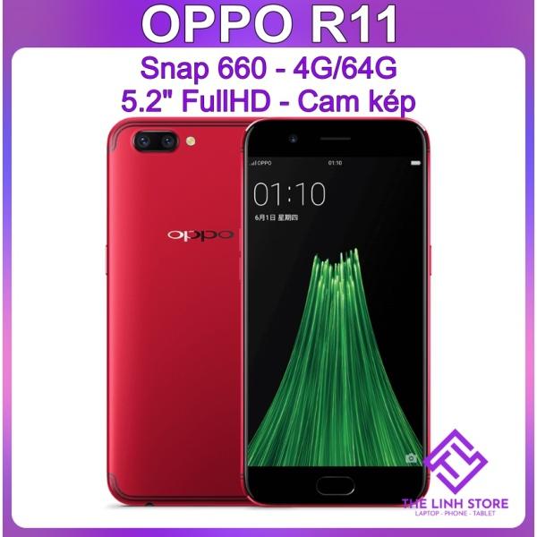 Điện thoại OPPO R11 ram 4G 64G tặng sạc nhanh - Snap 660