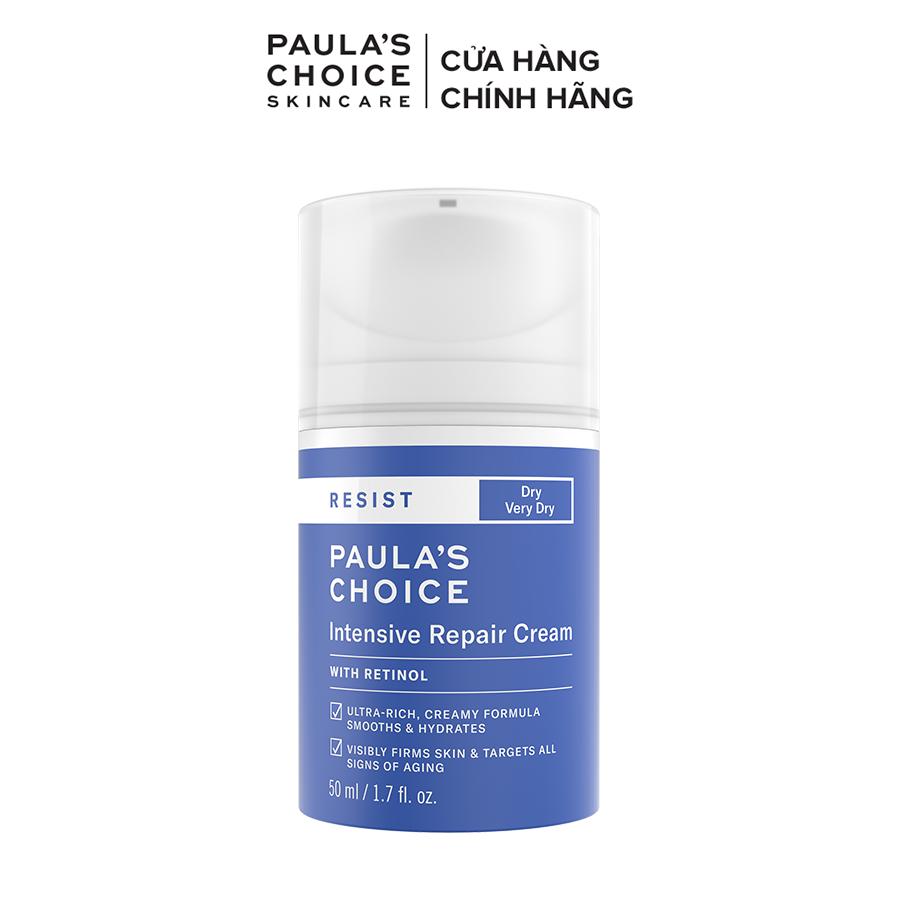 Kem dưỡng ẩm siêu cao cấp ngừa thâm nám và nếp nhăn Paula's Choice RESIST Intensive Repair Cream 50 ml