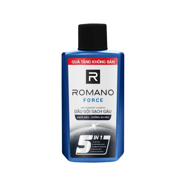 [HÀNG TẶNG KHÔNG BÁN] Dầu gội sạch gàu Romano 60g - giao mùi ngẫu nhiên giá rẻ