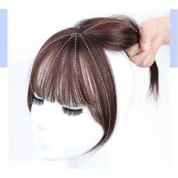 Tóc mái giả 3D đẹp, sợi tóc tơ, 2 kẹp giá rẻ