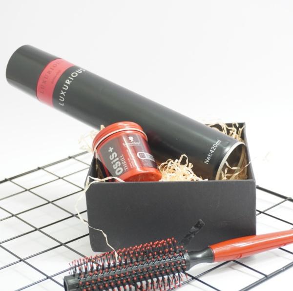 Combo sáp vuốt tóc Osis+ Thrill 3 hàng CTY+ Tặng lược/ sáp vuốt tóc/ wax vuốt tóc/ keo vuốt tóc/ sap vuot toc/ wax giá rẻ