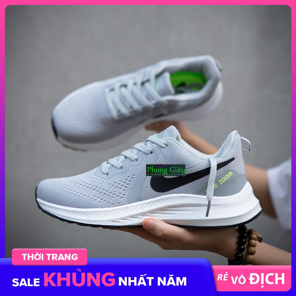 Giày Sneaker Nam Giày Thể Thao Nam T06 màu ghi sáng giày chạy bộ nam giày ulzzang nam giày thời trang nam giày đế bằng nam