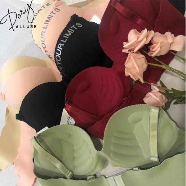 Áo lót nữ Doris Allure Al070, áo ngực nữ đúc su nâng ngực không gọng đệm dày 3cm hình bàn tay ôm nâng ngực đệm mềm dễ chịu, thấm mồ hôi đủ size 32-38