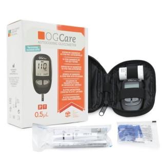 Máy đo đường huyết cá nhân OGCARE + 25 que thử đường huyết OGCARE- Italia thumbnail