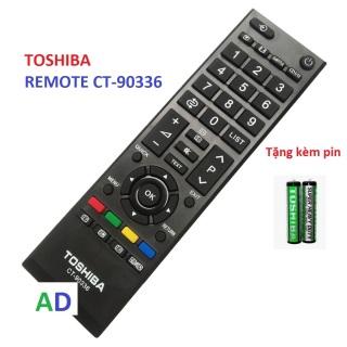 Điều khiển tivi Toshiba CT-90336 .-tặng kèm pin -Remote từ xa tivi Toshiba CT-90336 Sản phẩm được bảo hành 6 tháng thumbnail