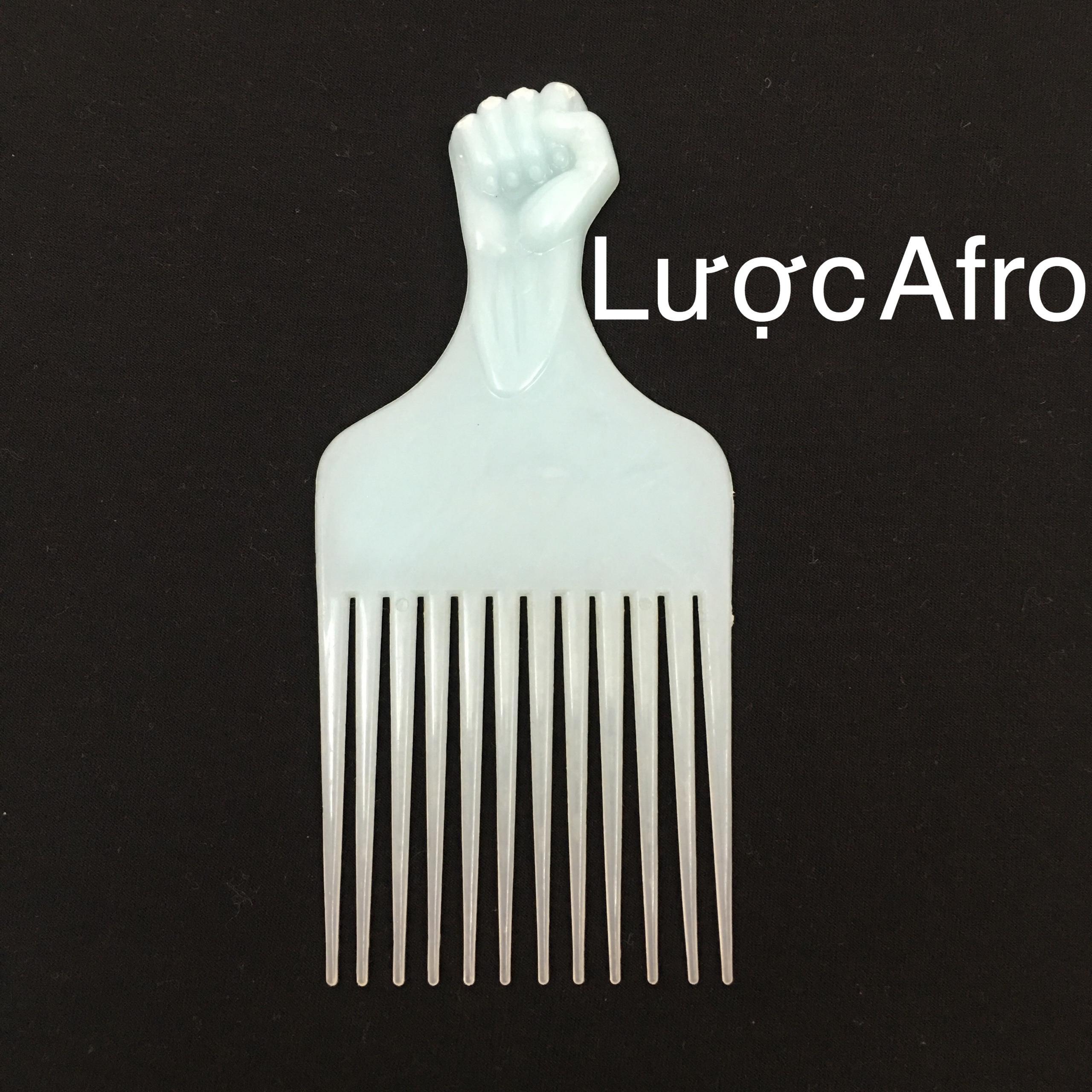Lươc AFRO tạo kiểu tóc nam