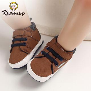 Kidsheep Giày trẻ em giày vải Giày cho trẻ mới biết đi Đế Mềm Chống Trượt
